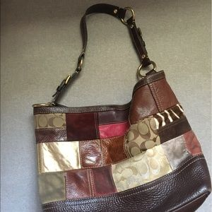 Coach Patchwork Leather Catchall